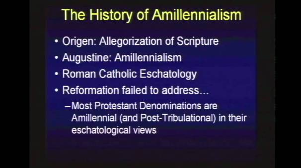 AMILLENNIALISM 1
