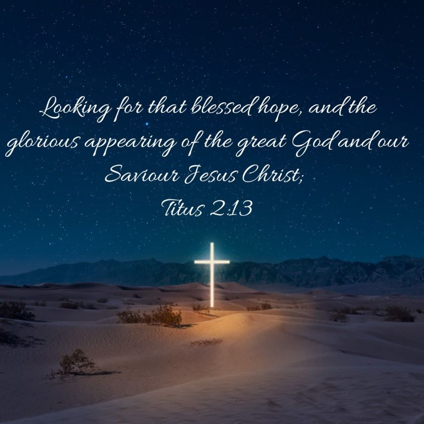 0 BLESSED HOPE